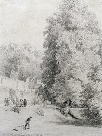 New College Garden, 1821