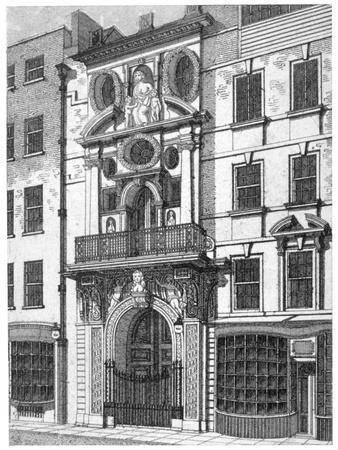 Mercers' Hall, City of London, C1800