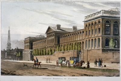 St Luke's Hospital, Old Street, Finsbury, London, 1815