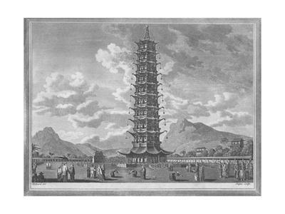 'The Porcelain Pagoda, At Nankin in China', 1793