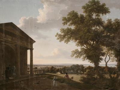 View in Mount Merrion Park, 1804