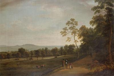 View in Mount Merrion Park, 1806