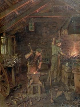 By Hammer and Hand, All Arts Doth Stand (The Forge) by William Banks Fortescue