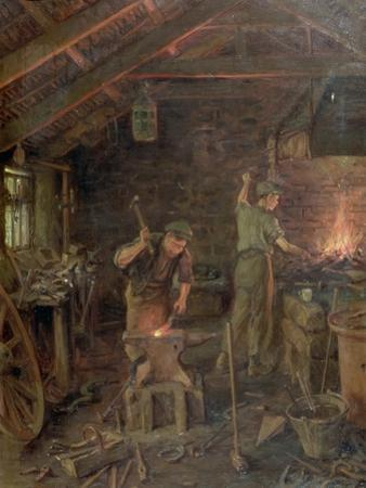 By Hammer and Hand, All Arts Doth Stand (The Forge)
