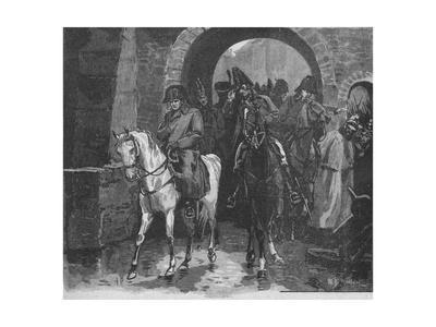 Napoleon Rode Away With A Small Suite Through St. Peter's Gate, 1902
