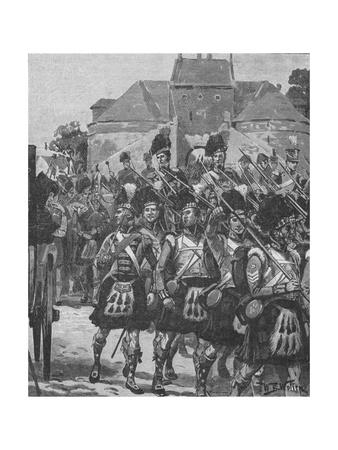 'Picton's Division Off To The Front', 1902