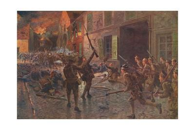 'The Coldstream Guards at Landrecies, August, 1914', 1915 (1928)