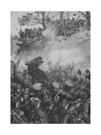 'The French Rushed Forward With Triumphant Yells and Firing Down Into The Hollow Road', 1902