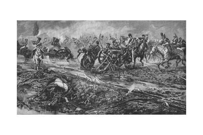 'The Union Brigade Capturing the French Guns at Waterloo', 1902