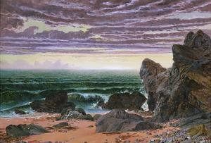 Sunset over the Sea by William Bell Scott