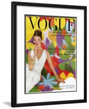 Vogue Cover - May 1959 by William Bell