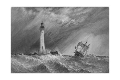 'Eddystone Light-House', 1836