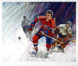 NHL Hockey by William Biddle
