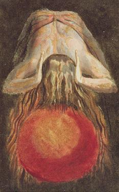And Left a Round Globe of Blood, Trembling Upon the Void..., Plate 11 by William Blake