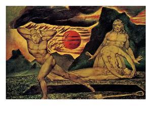 Cain Fleeing by William Blake