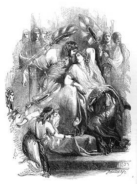 Children Guiding a Serpent by William Blake by William Blake