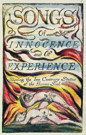 Combined Title Page from 'Songs of Innocence and of Experience', Plate 2 of Bentley Copy L by William Blake