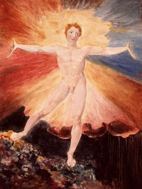 Glad Day or the Dance of Albion, c.1794 by William Blake