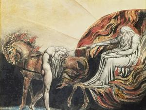 God Judging Adam, 1795 by William Blake