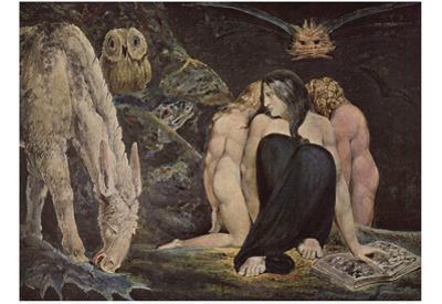 William Blake (Hekate) Art Poster Print