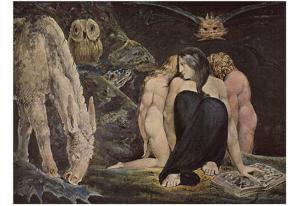 William Blake (Hekate) Art Poster Print