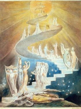 Jacob's Ladder by William Blake