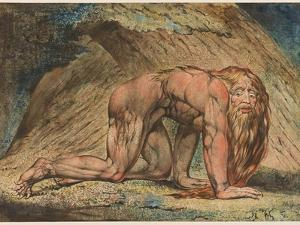 Nebuchadnezzar, 1795 by William Blake