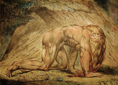 Nebukadnezar by William Blake