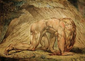Nebukadnezar by William Blake