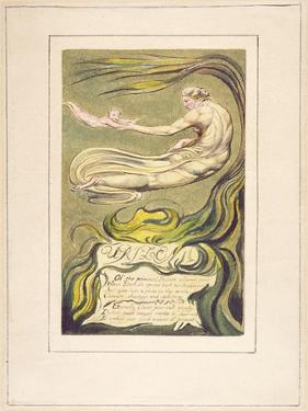 Preludium, Plate 2A from 'The First Book of Urizen', 1794 by William Blake
