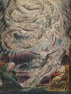 'Queen Katherine's Dream', c1825 by William Blake