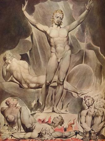 'Satan Arousing the Rebel Angels', 1808 by William Blake