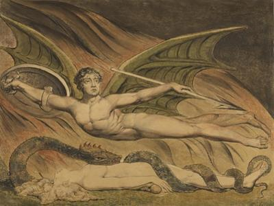 Satan Exulting over Eve, 1795 by William Blake