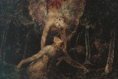 The Agony in the Garden by William Blake
