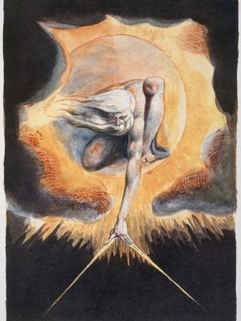 'The Ancient of Days', 1793 by William Blake