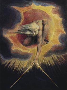The Ancient of Days, 1794 by William Blake