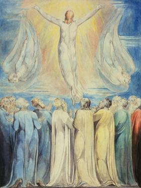 The Ascension, C.1805-6 by William Blake