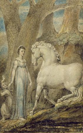 The Horse, from 'William Hayley's Ballads', C.1805-06 by William Blake