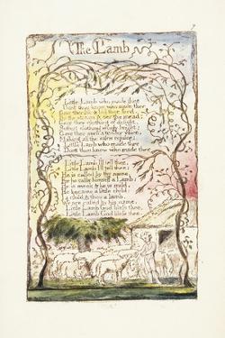 The Lamb, 1789 by William Blake