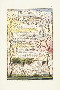 The Lamb, 1789 by William Blake