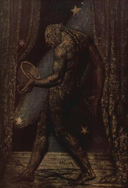 William Blake (The specter of a flea) Art Poster Print