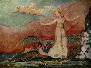 Thel and the Worm by William Blake by William Blake