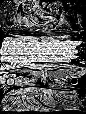 William Blake (1757-182), English Mystic, Poet, Painter and Engraver, 1804-1820 by William Blake