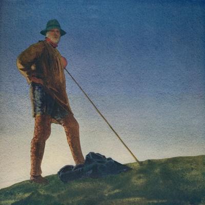'The Shepherd hears the Guns at Dawn', c1910, (c1932)