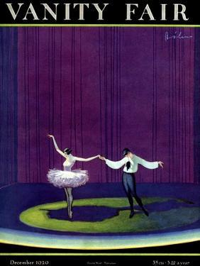 Vanity Fair Cover - December 1920 by William Bolin
