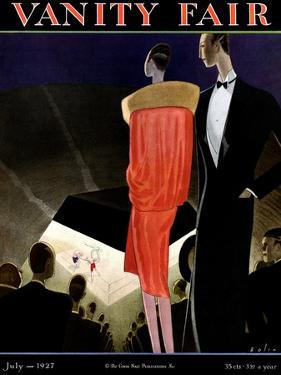 Vanity Fair Cover - July 1927 by William Bolin