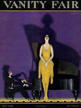 Vanity Fair Cover - June 1921 by William Bolin