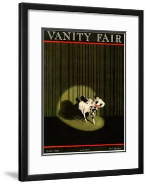 Vanity Fair Cover - October 1921 by William Bolin