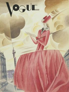 Vogue - April 1927 by William Bolin