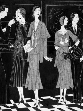 Vogue - April 1930 by William Bolin